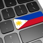 Philippines keyboard image with hi-res rendered artwork that could be used for any graphic design.